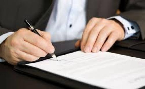 Emissão de Contrato de Obras e Serviços